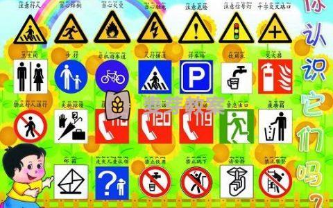 幼兒園大班安全《常見的標誌》教案3篇(從幼兒熟悉的生活做起,提醒幼兒注意安全)